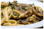 pork tenderloin with marsala sauce and pasta