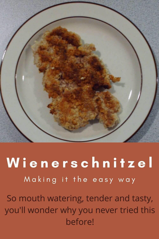 Wienerschnitzel - making it the easy way