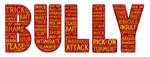 bullying in all caps used as a header image