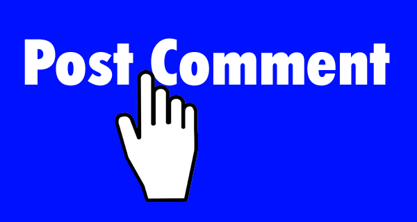 Post Commenting used as a header image