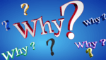 the word WHY? used as a header image