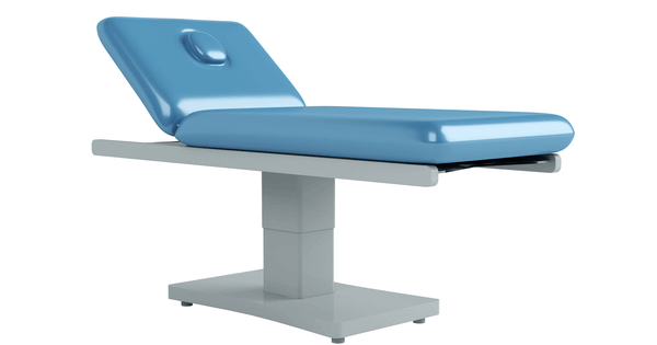 a picture of a table used by chiropractors and other such health care providers used as a header image