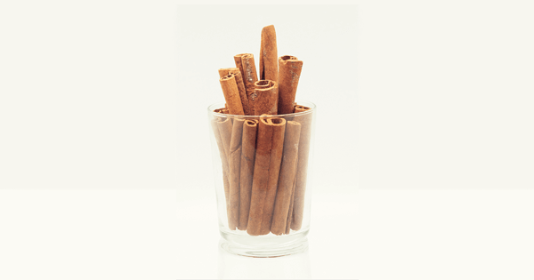 cinnamon sticks in an empty drinking glass used as a header image