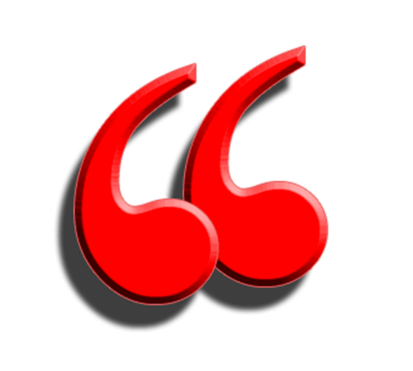 large red quotation mark used as a header image