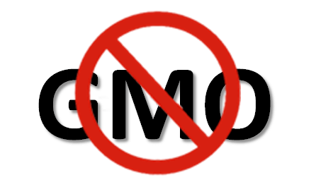 A symbol for not allowing GMO used as a header image