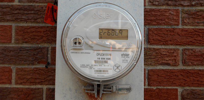 a picture of the new Smart Meters used as a header image