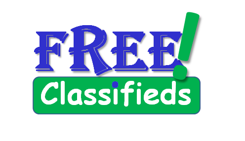 FREE! Classifieds - text used as a header image