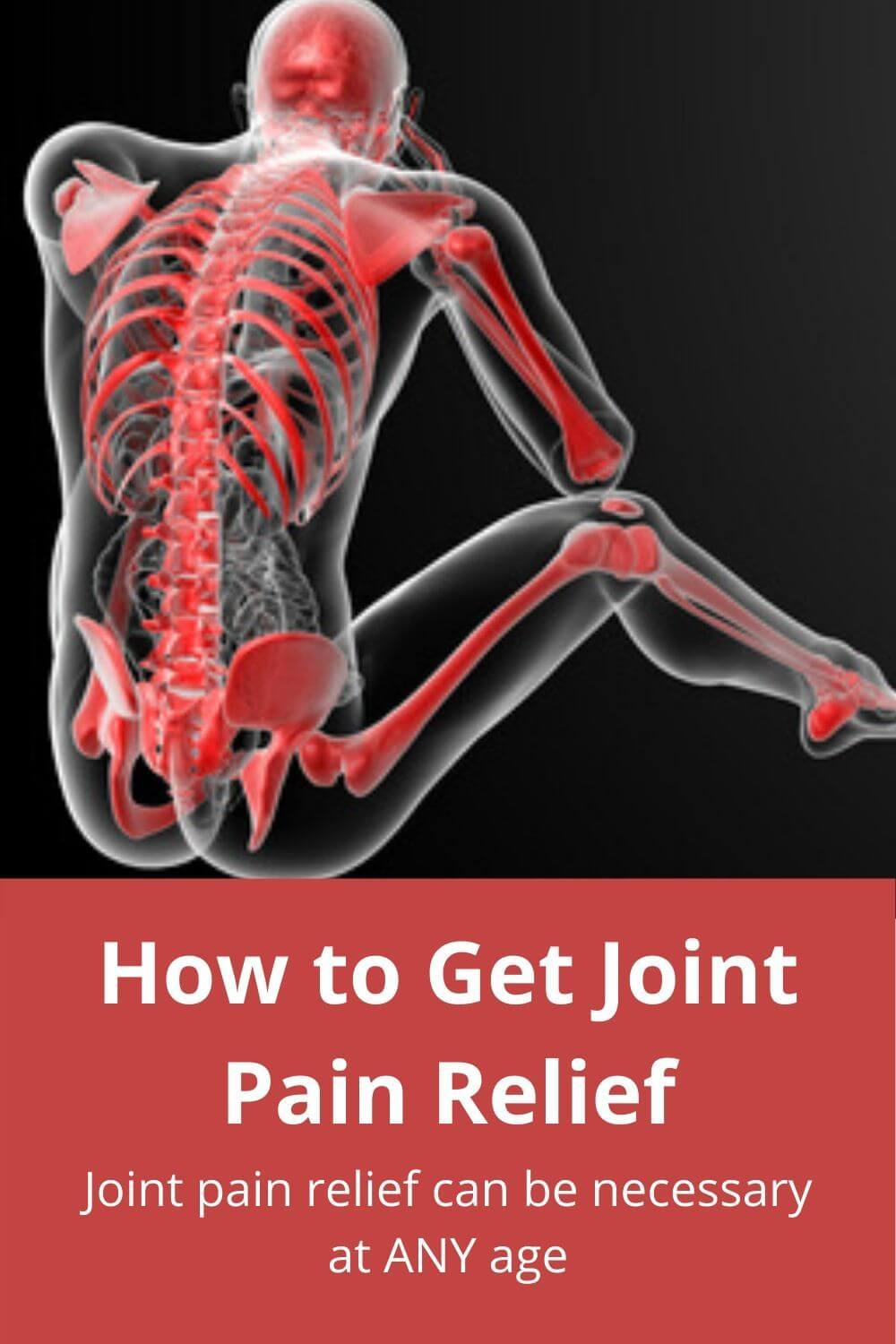 how to get joint pain relief