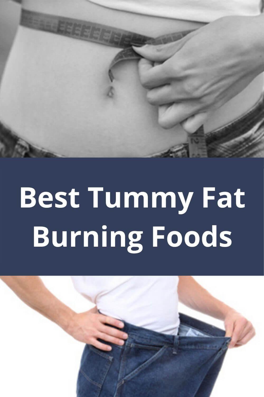 Best Tummy Fat Burning Foods