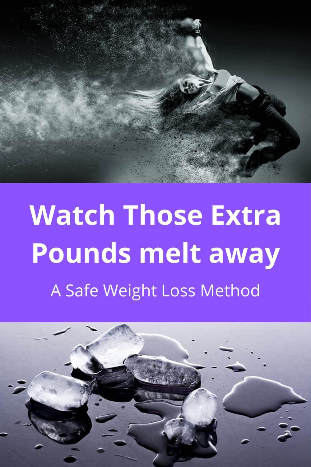 Watch Those Extra Pounds Melt away... a safe weight loss method