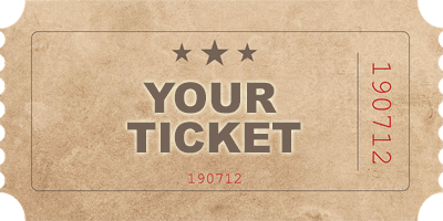 "picture of a ticket with ""Your Ticket"" on it"