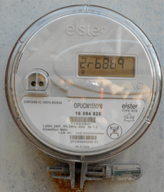 smart meter for measuring hydro consumption in Ontario, Canada