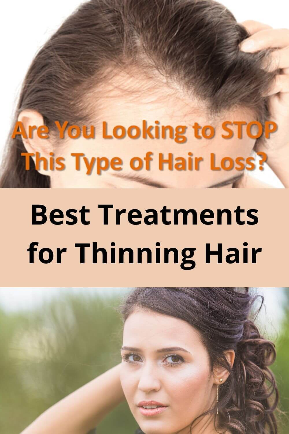 Best treatments for thinning hair