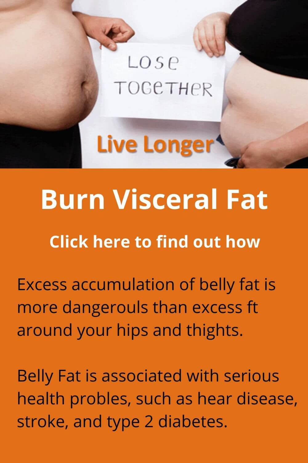 Burn Viscerel fat - why it is important