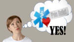 "lady wishing for pain relief and a loud ""YES!"" over top"