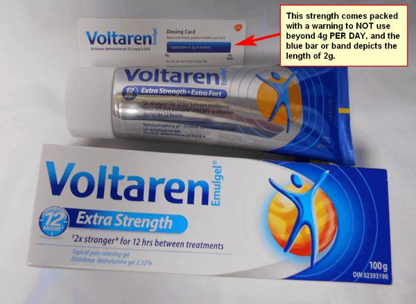 Voltaren Extra Strength