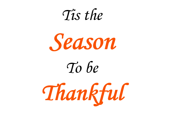 "image states ""Tis the season to be Thankful"""