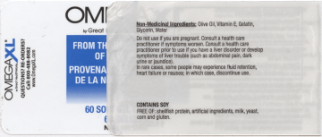 side 2 of 3 label from OmegaXL