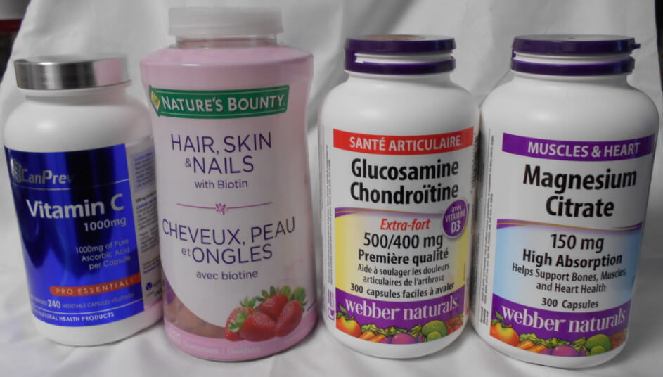 image of the first 4 supplements