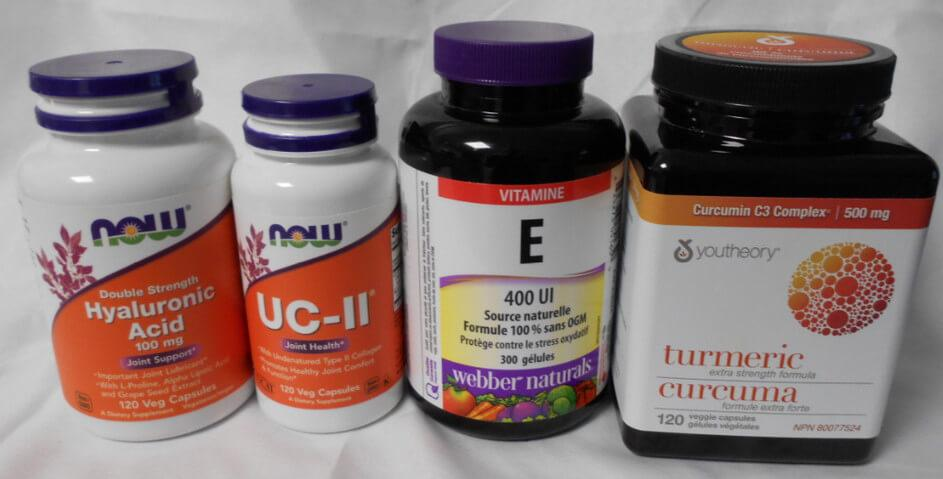 image of the next 4 supplements I use